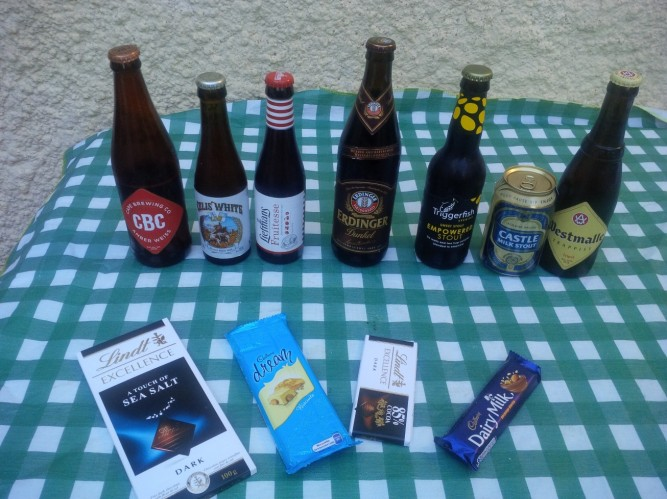 Beer and chocolate pairing