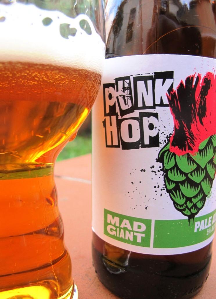 Mad Giant Punk Hop Pale Ale