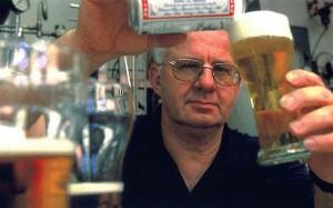 Brew guru (brewru?) Dr Charlie Bamforth