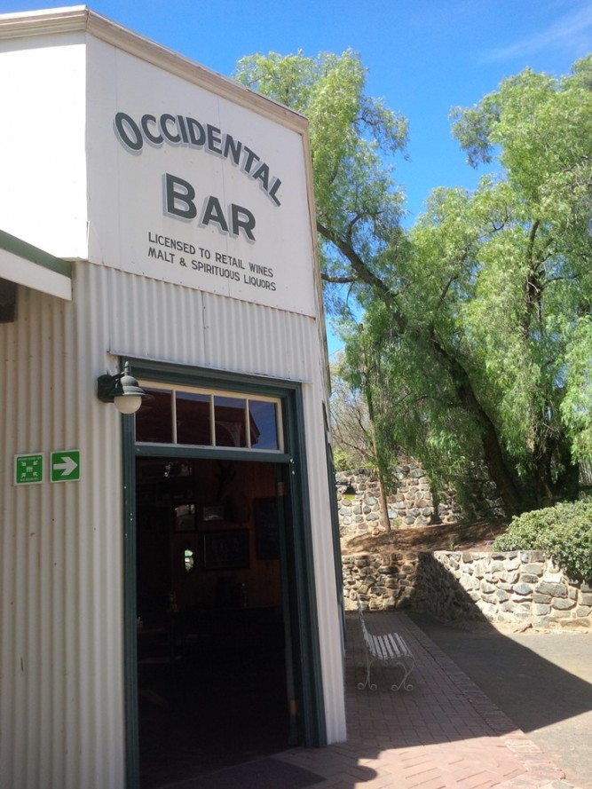 occidental bar kimberley