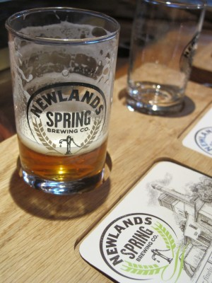newlands spring pale ale