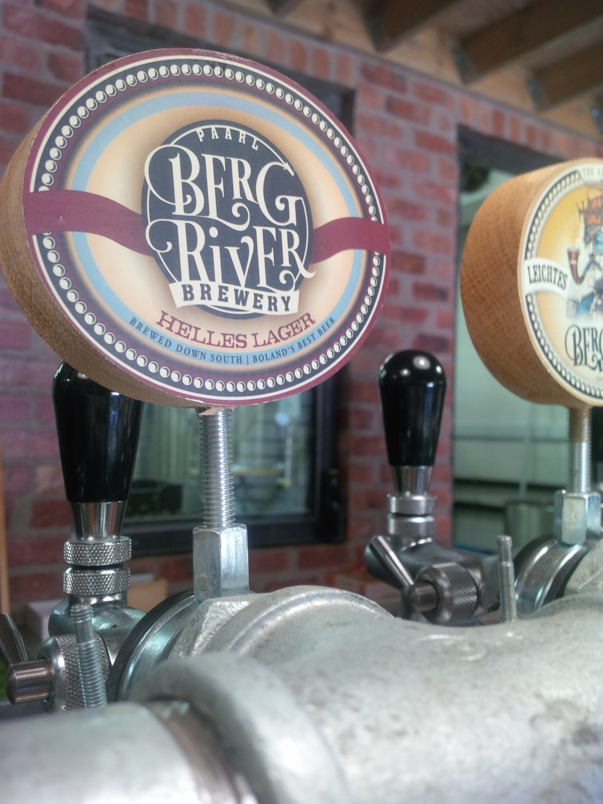 Taste what Jorg is brewing these days at Berg River in Paarl