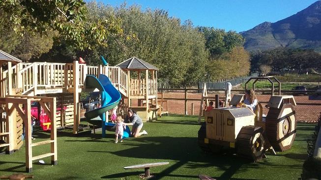 Great views, delightful kids' play area and an interesting beer list at Open Door in Constantia