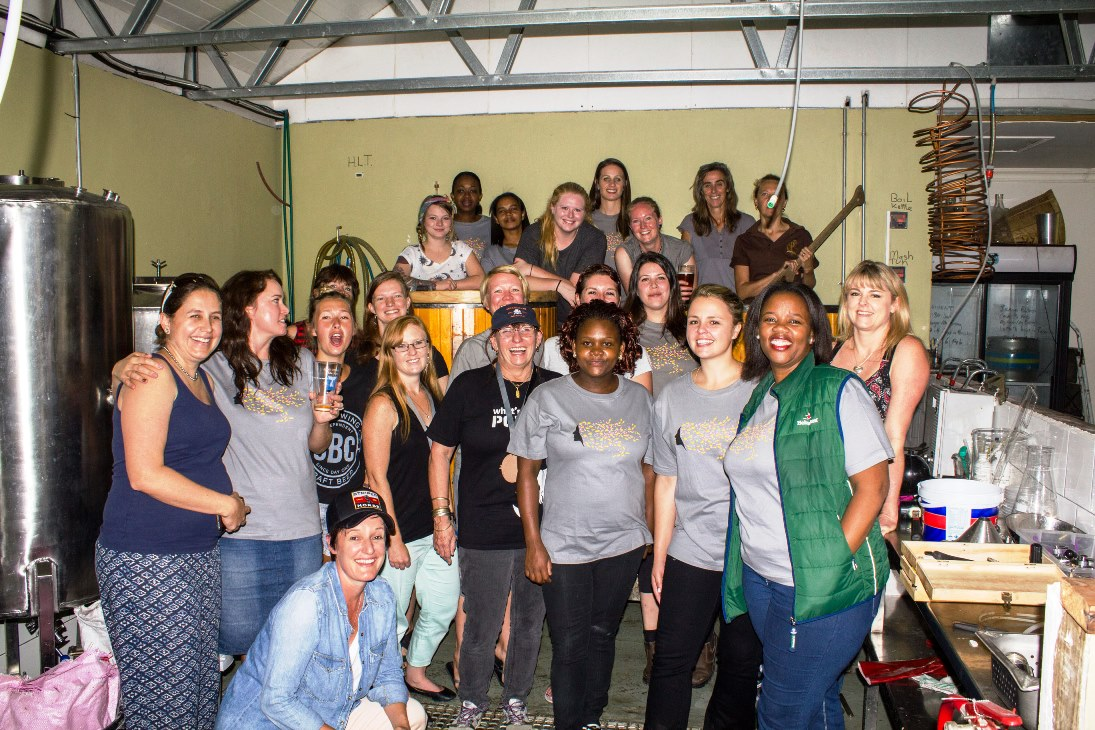 womens collaboration brew day south africa