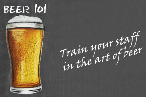 beer staff training