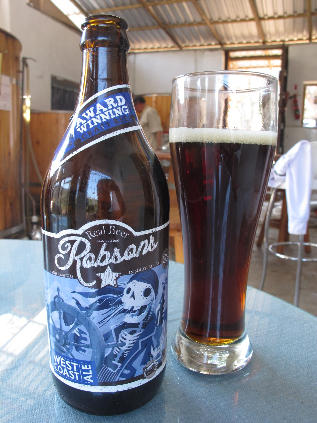 Robsons Durban Pale Ale Shongweni Brewery