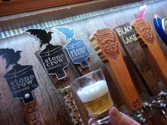 stone crow beers