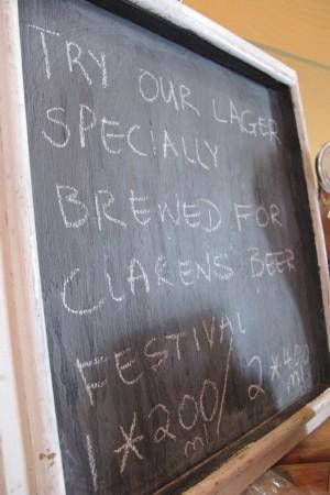 clarens special beer