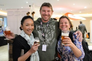 Neva Parker and Christina Schonberg were thrilled to meet one of their beeroes at the 2016 Beer Boot Camp ;-)