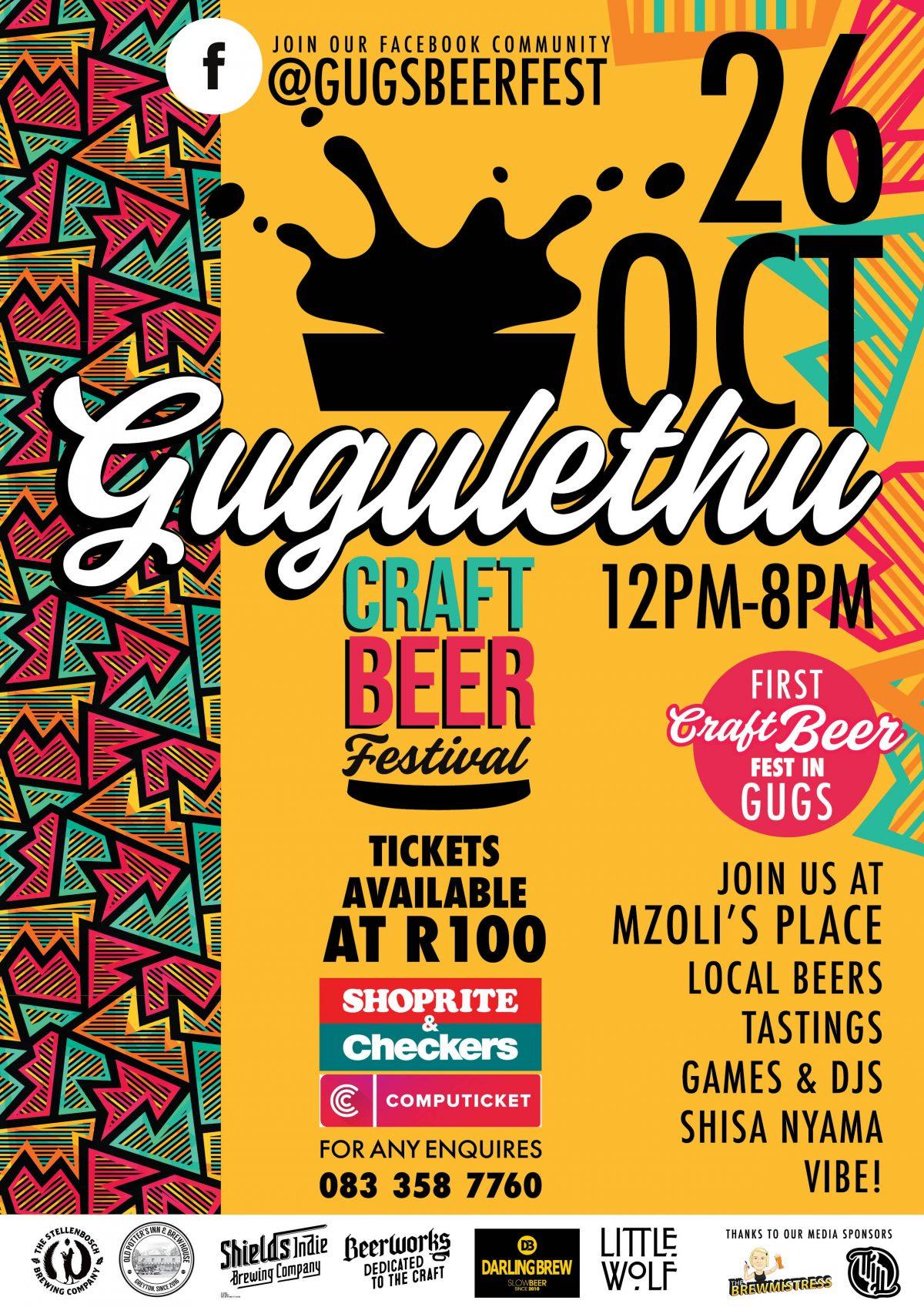 gugulethu craft beer festival